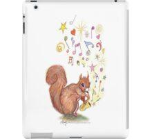 Saxophone Squirrel iPad Case/Skin