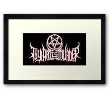 thy art is murder Framed Print