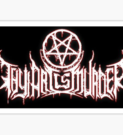 thy art is murder Sticker