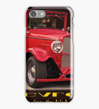 1927 Chevrolet Sedan 'USA' iPhone Case/Skin