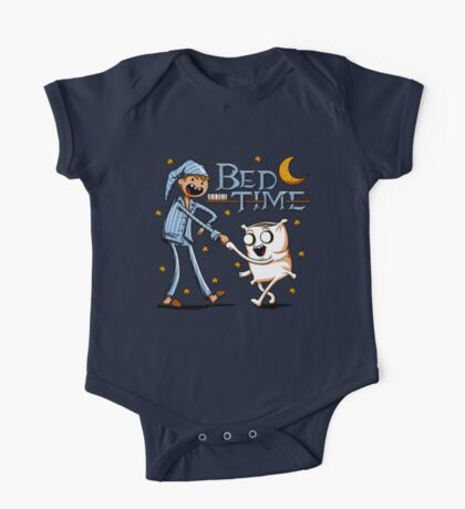 Bed Time One Piece - Short Sleeve
