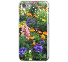 flower bush iPhone Case/Skin