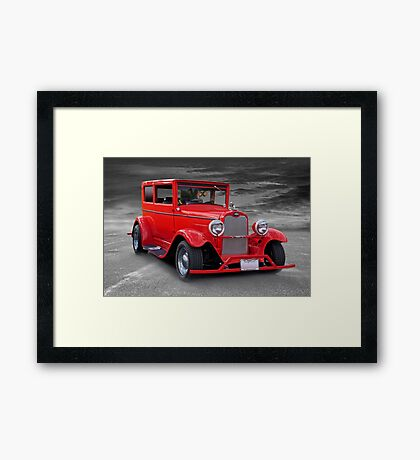 1927 Chevrolet Sedan I Framed Print