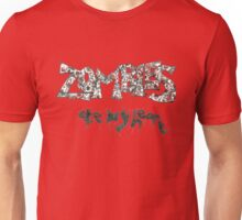 Zombies Ate My Heart Unisex T-Shirt
