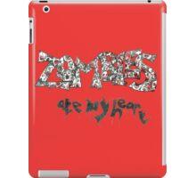 Zombies Ate My Heart iPad Case/Skin