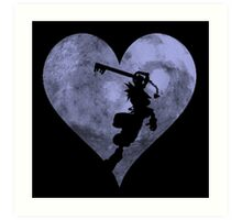 Sora's Heart Art Print