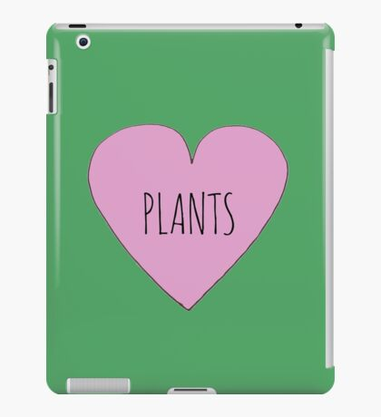 Plant Love iPad Case/Skin