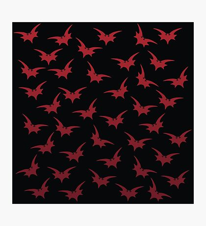 Red Bats Photographic Print