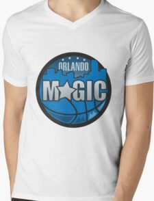 logo nba orlando magic Mens V-Neck T-Shirt