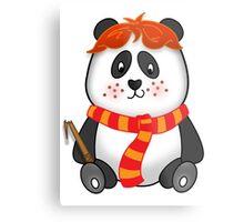 Potter Panda Pals - Ron Metal Print