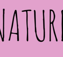 Nature Love Sticker