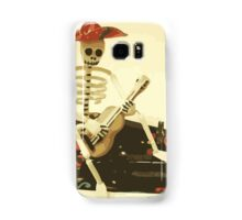 Day of the Dead Guitar Player Samsung Galaxy Case/Skin