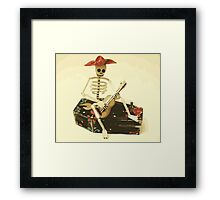 Day of the Dead Guitar Player Framed Print