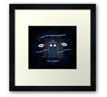 Wholocked The Tardis Framed Print
