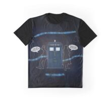 Wholocked The Tardis Graphic T-Shirt