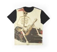 Day of the Dead Guitar Player Graphic T-Shirt