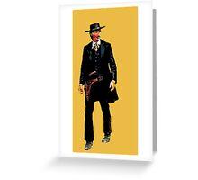 Sheriff Clayton Greeting Card