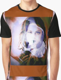6547r Orchid Goddess Graphic T-Shirt
