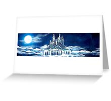 Castle on the clouds  Greeting Card