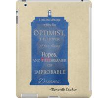 Dreamer of Improbable Dreams iPad Case/Skin
