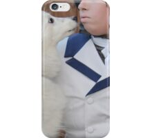 Ciel with Puppy 3 iPhone Case/Skin