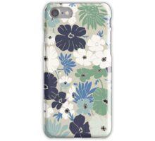 Vinage Flowers Pattern iPhone Case/Skin