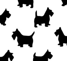 pattern with dogs) Sticker
