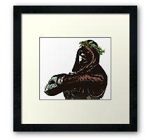 Ermac Laurel Crown Framed Print