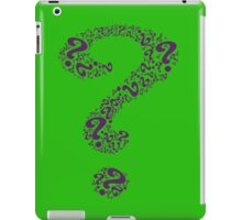 Batman - The Riddler Question Mark iPad Case/Skin