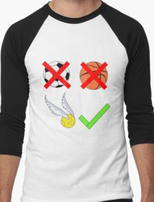 Quidditch Over Everything Men's Baseball ¾ T-Shirt