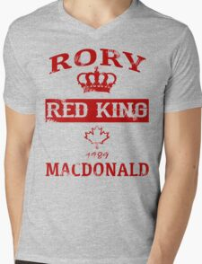 Rory MacDonald Established [FIGHT CAMP] Mens V-Neck T-Shirt