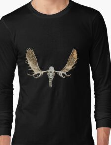Moose skull Long Sleeve T-Shirt
