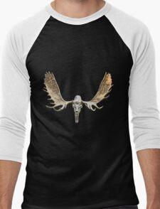 Moose skull Men's Baseball ¾ T-Shirt