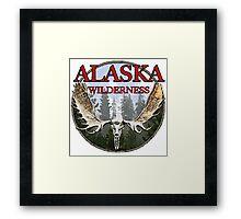 Alaska wilderness  Framed Print