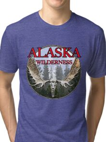 Alaska wilderness  Tri-blend T-Shirt