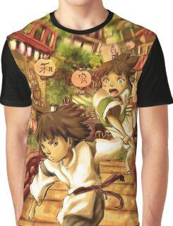 Haku and Chihiro Graphic T-Shirt