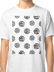 Zebra dots Classic T-Shirt