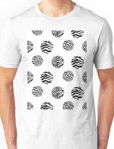 Zebra dots Unisex T-Shirt