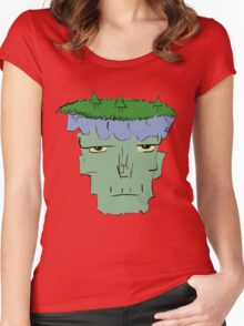 Plants in a Zombie Women's Fitted Scoop T-Shirt