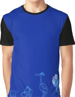 Up! Blue balloons. Graphic T-Shirt