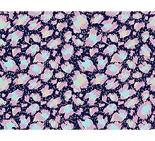 colorful leopard Photographic Print