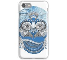 Spiritual Blue Monkkey  iPhone Case/Skin