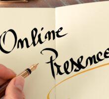 Online Presence Sticker