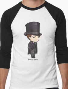 Sherlock Holmes Chibi Men's Baseball ¾ T-Shirt