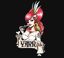 Pirate pinup Yarr me hearties! Women's Tank Top