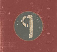 Retro Letter Q by alphabeautiful