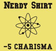 Nerdy Shirt One Piece - Short Sleeve