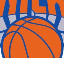 logo newyork knicks ball Sticker