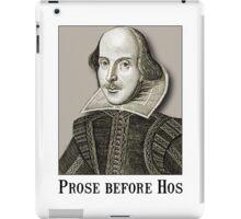 Shakespeare Hos iPad Case/Skin