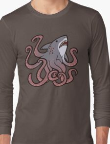 Cute Sharktopus Long Sleeve T-Shirt
